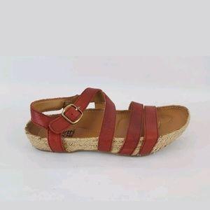 Kalso Earth Enlighten Espadrille Sandals Strap 6B, used for sale